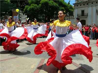 Venezuela Traditional Costume