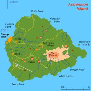 Saint Helena Ascension Tristan Da Cunha Interactive Map Saint - Tristan da cunha map
